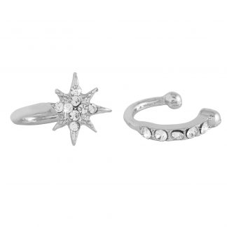 2-pack Earcuffs Silver Montini