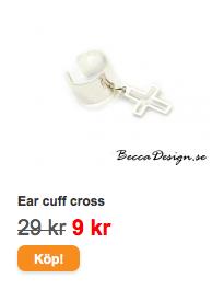 ear cuff cross