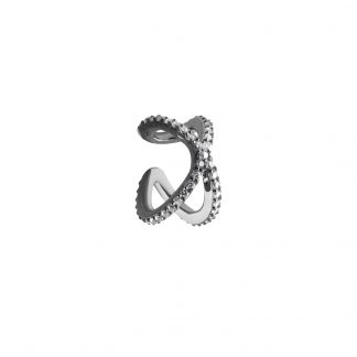 CBYC Örhänge Cross Ear cuff svart