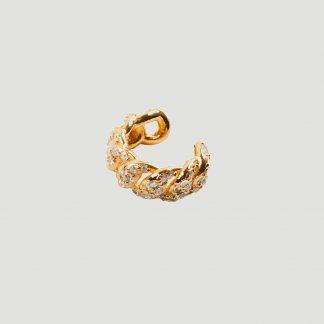 CBYC Earcuff Curb Stone guld