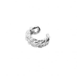 CBYC Earcuff Curb Stone silver